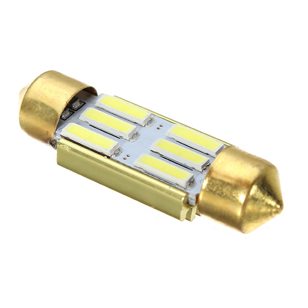 Led auto sofit 36mm canbus 6 smd 7020