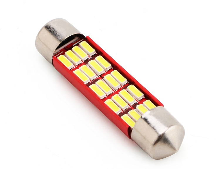 Led Auto Sofit 42mm cu 20 SMD 4014 Fara Polaritate