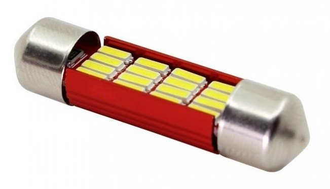 Led Auto Sofit 39mm cu 16 SMD 4014 - fara polaritate